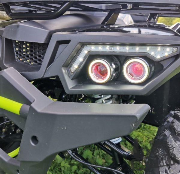 LED svetlomety štvorkolky sonic 200cc
