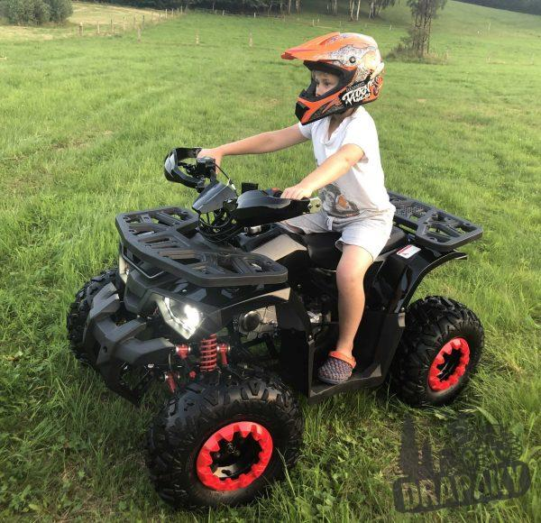 Detská benzínova štvorkolka 125cc