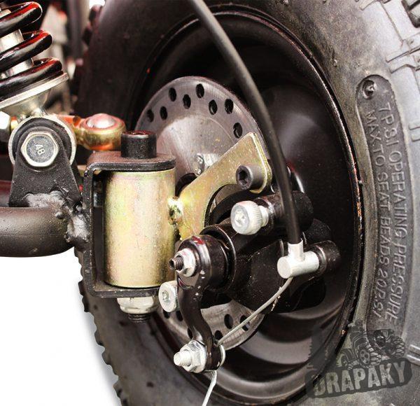 Predná kotúčová brzda elektrickej štvorkolky HUMMER 800W