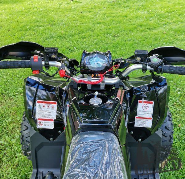 riadidlá a dislej štvorkolky razer 125cc