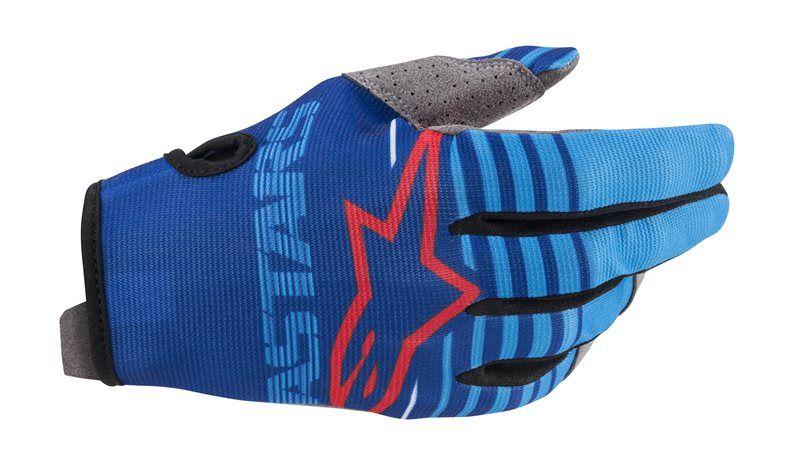 Moto rukavice Alpinestars modrá veľkosť XL