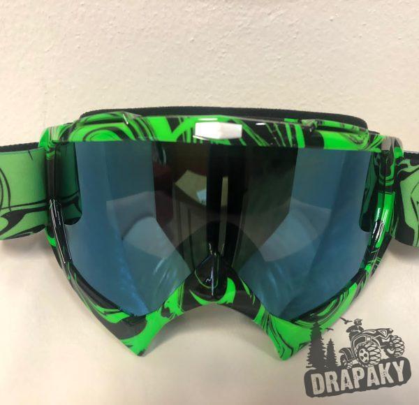 Cross okuliare tmavo zelené