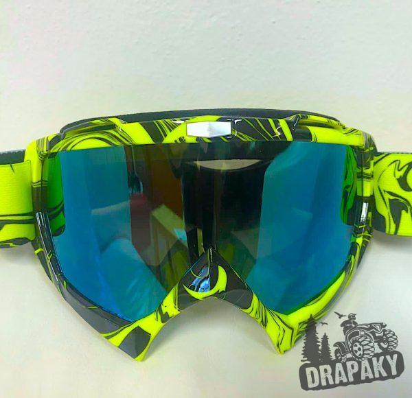 Cross okuliare svetle zelené