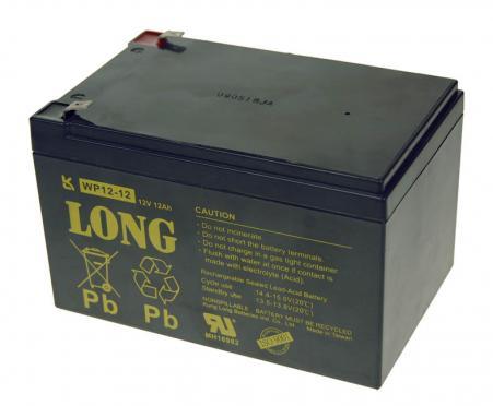 Trakcná olovená batéria 12V / 12Ah