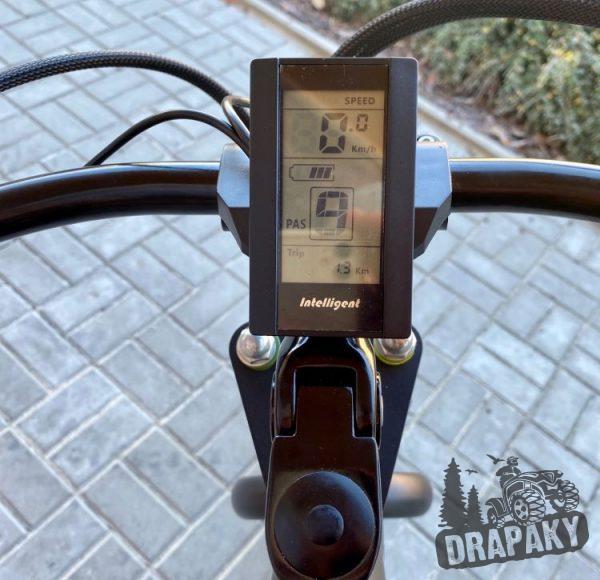 Elektro bicykel tachometer