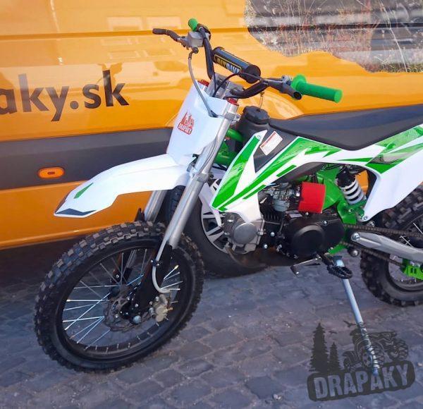 Pitbike zeleny 125 ccm